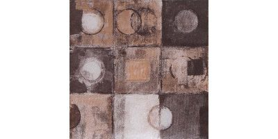 MURANO BROWN ABSTRACT